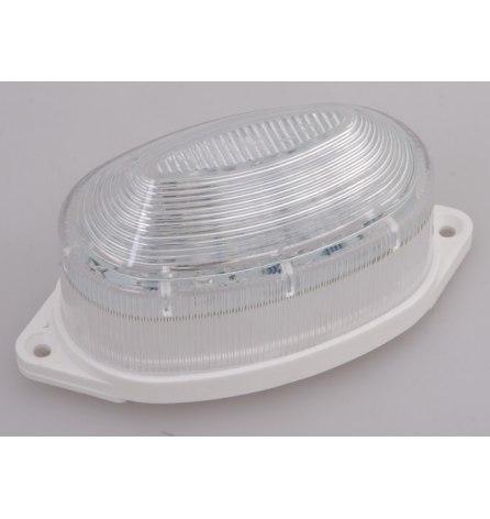 Лампа-строб накладная 30 LED, желтая