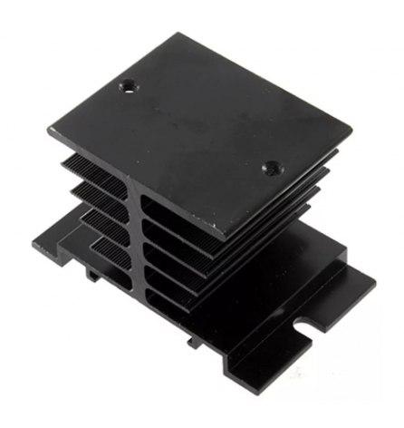 Радиатор алюминиевый  д/твердотельных реле (черный)