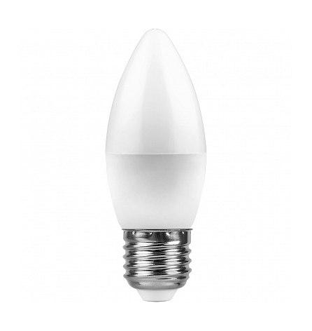 Лампа светодиодная 7W E27 4000K 230V LB-97