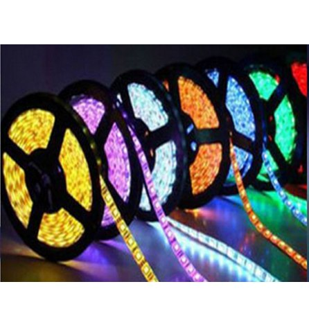 Лента открытая LED 12V, 8мм SMD 3528, 120LED/m,теплый белый