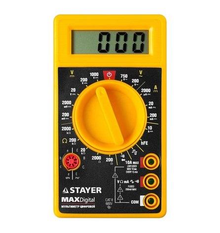 Мультиметр цифровой STAYER