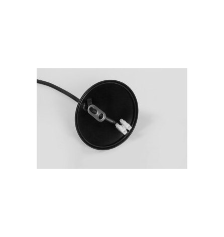 Патрон для лапм Е27 со шнуром 1м, черный LH127