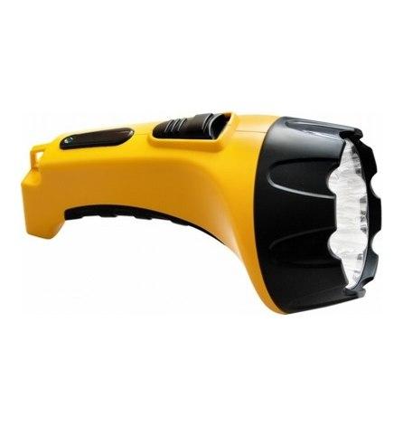 Фонарь аккумуляторный 15LED DC желтый ТН2295