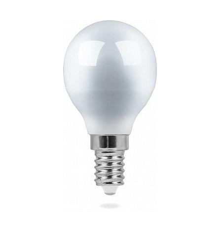 Лампа светодиодная 7W E14 4000K 230V LB-95