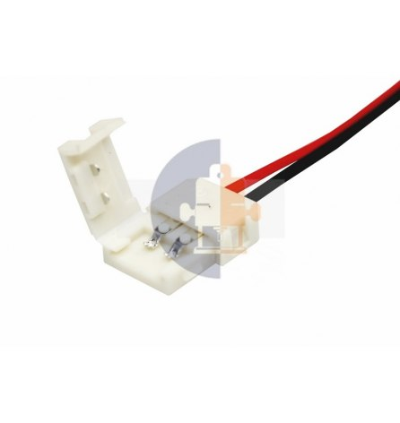 Коннектор питания д/светодиодный лент, 8мм