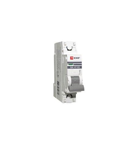 Автоматический выключатель ВА 47-63, 1P 50А (C) 4,5kA EKF PROxima