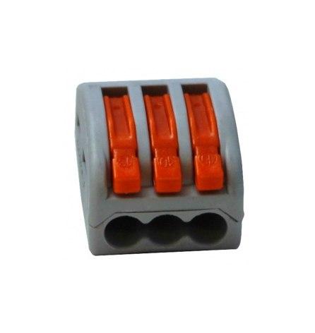 Клемма соединительная 3-х провод.32А,0.5-4мм2