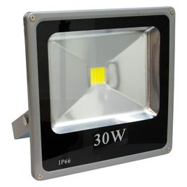 Прожектор 1LED/30W RGB (235*225*60мм) LL-273