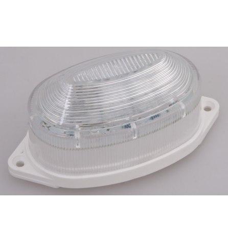 Лампа-строб накладная 30 LED, красная