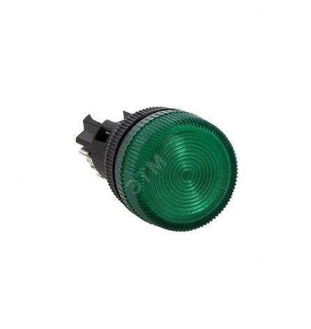 Лампа сигнальная ENS-22 зеленая 220В, EKF