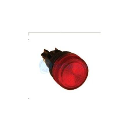 Лампа сигнальная ENS-22 красная 220В, EKF