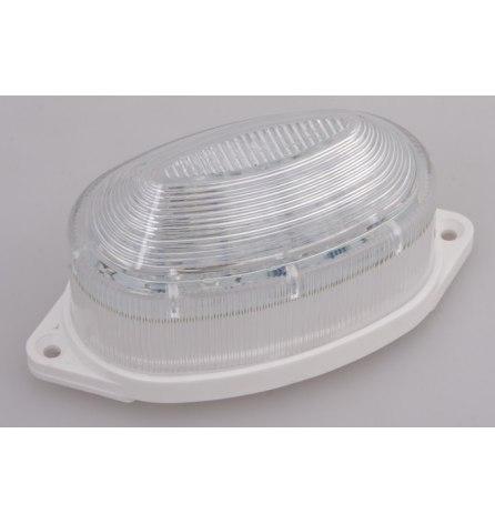Лампа-строб накладная 30 LED, зеленая