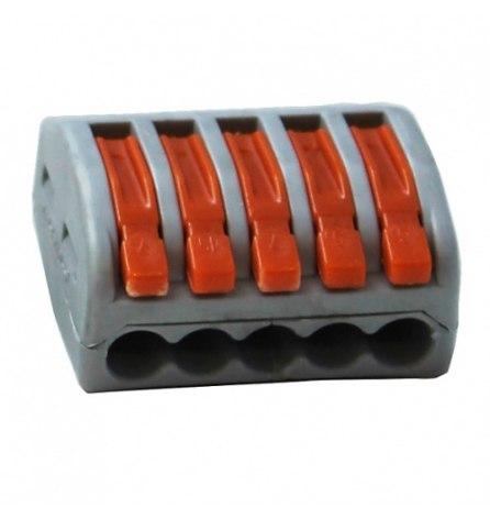 Клеммы строительно-монтажные СМК-415(5х2,5мм2)5шт.