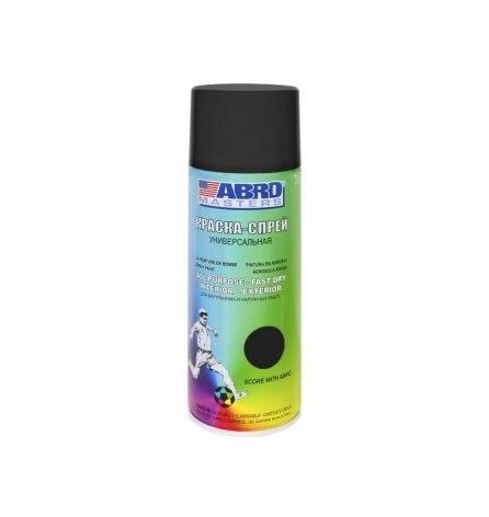 Краска-спрей ABRO (черный матовый)