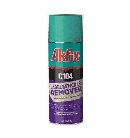 Очиститель наклеек C104, AKFIX, 200мл
