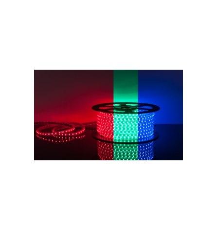 Лента LED 220В,13х8мм,SMD 5050, 60LED/m,RGB