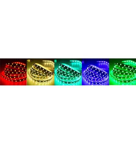 Лента силикон LED 12V, 8мм,IP65,SMD 3528, 60LED/m,желтая