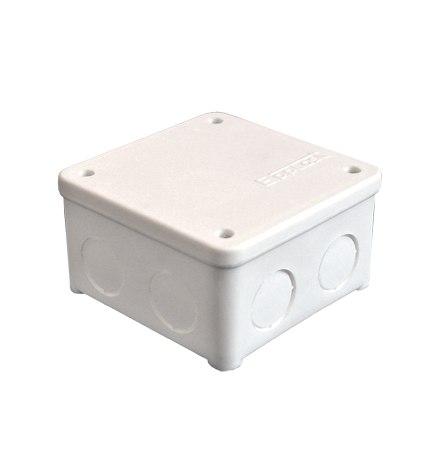 Коробка У-135 белая, 85х85х45мм, крышка на винтах