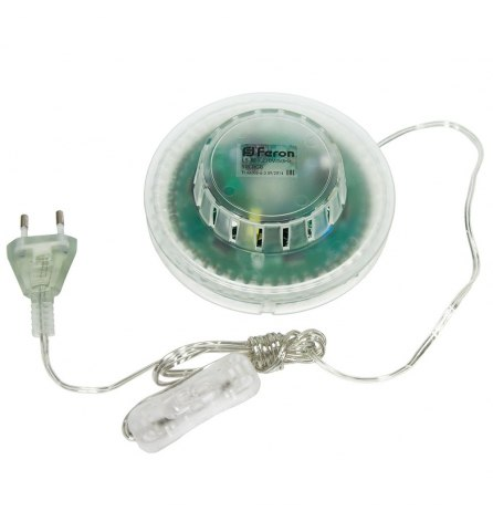 Лампа светодиодная 3W E27 RGB, LB-800