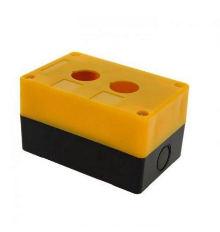 Корпус пластиковый КП-102 на 2 кнопки, EKF