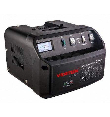 Зарядное устройство VERTON Energy ЗУ-20 (300Вт,12/24В,20-200Ач)