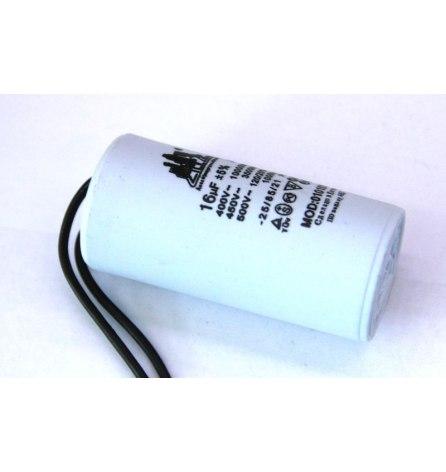 Конденсатор 16Мкф с 2-мя проводами