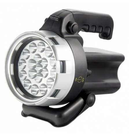 Фонарь поисковый аккумуляторный 19 светодиодов, Stern