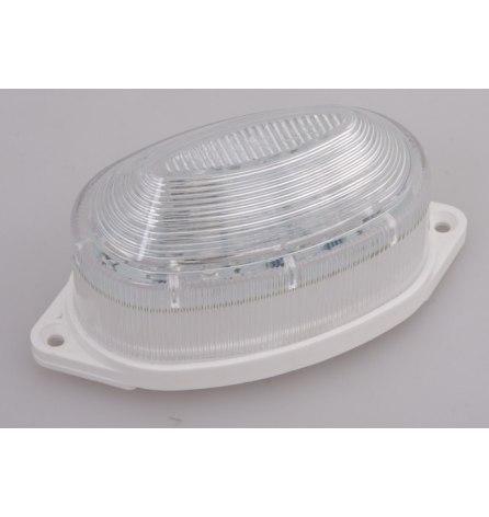 Лампа-строб накладная 30 LED, белая