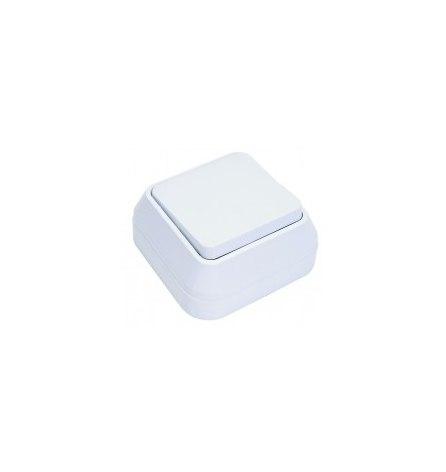 Выключатель проходной Makel накладной белый 1 клавиша