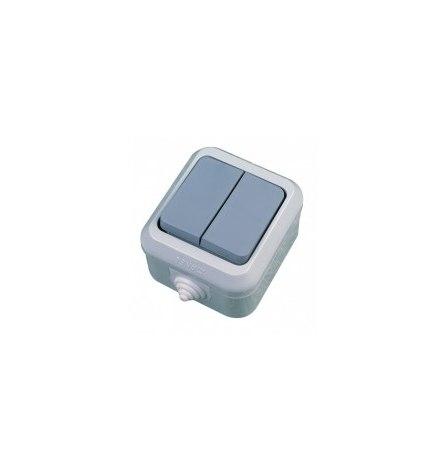 Выключатель Makel IP44 (2 клавишы)