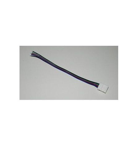 Коннектор питания д/светодиодный лент 10мм RGB