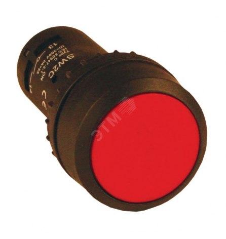 Кнопка SW2C-11 возвратная красная NO+NC, EKF