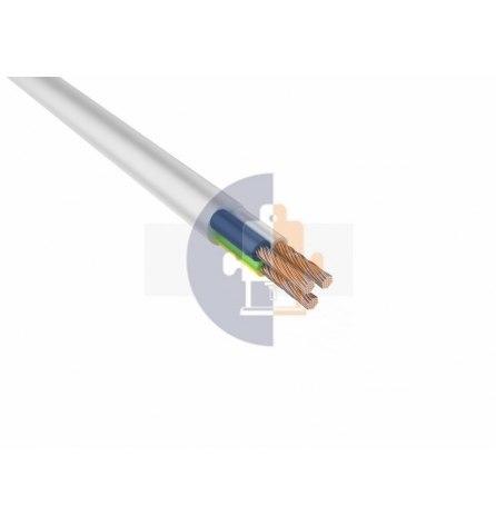 Провод ПВС 3х2,5мм² белый