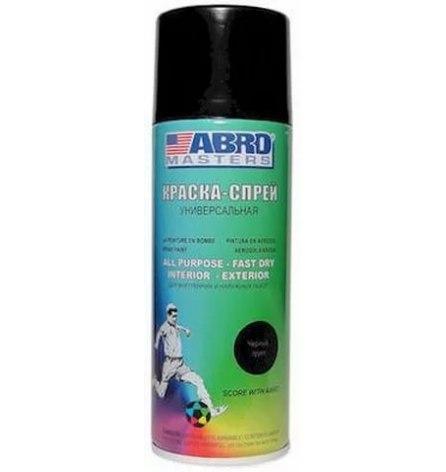 Краска-спрей ABRO (черный грунт)